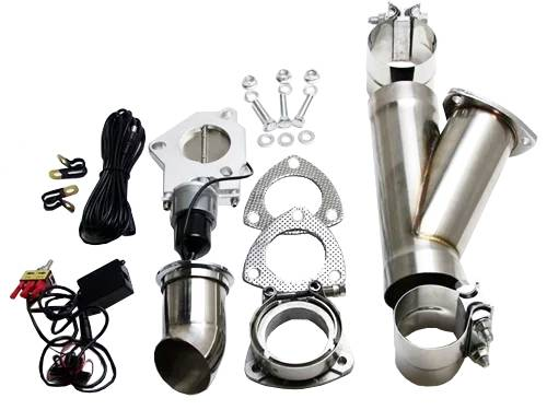 Cutouts, Turn Downs, VBands & Mufflers - Stainless Steel Electronic Cutouts
