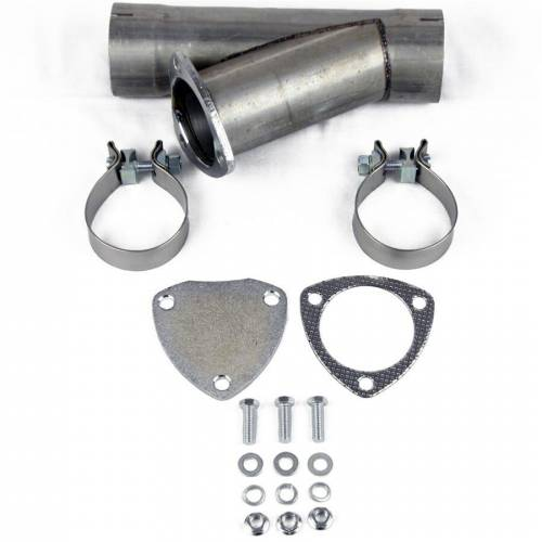 Cutouts, Turn Downs, VBands & Mufflers - Mild Steel Manual Exhaust Cutouts