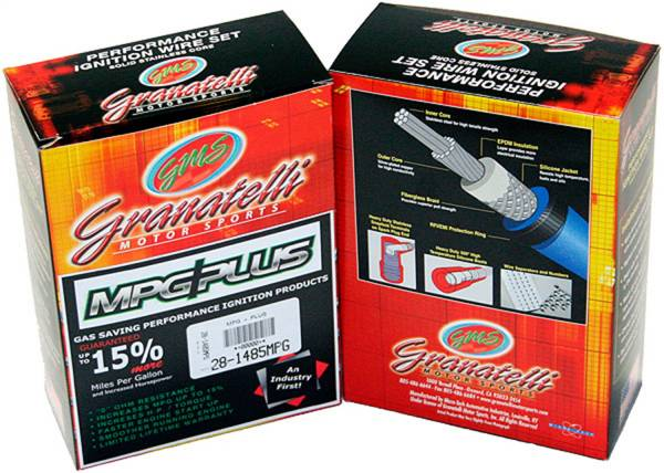 Granatelli Motorsports - Granatelli Motorsports Performance Spark Plug Wires 20-1808S-R
