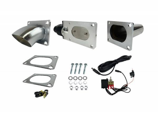 Granatelli Motorsports - Granatelli Motorsports Electronic Exhaust Cutout Kit 313530