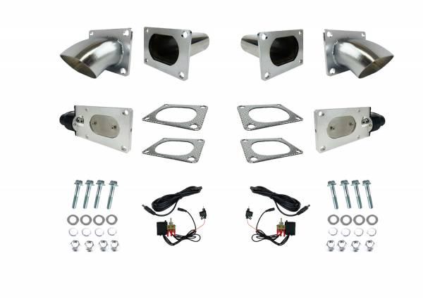 Granatelli Motorsports - Granatelli Motorsports Electronic Exhaust Cutout Kit 313530D