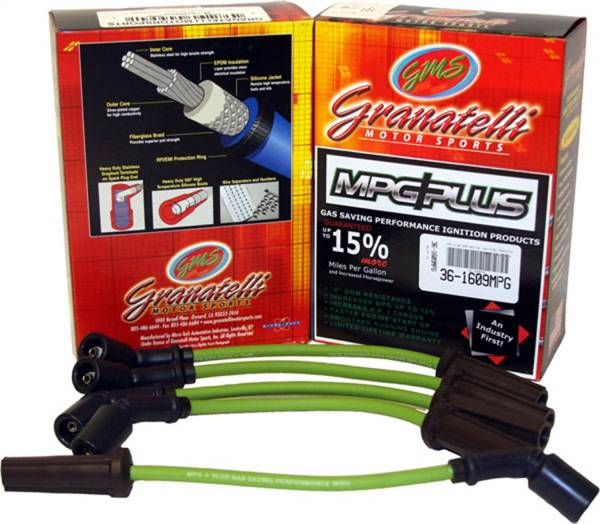 Granatelli Motorsports - Granatelli Motorsports MPG Spark Plug Wires 34-1124MPG