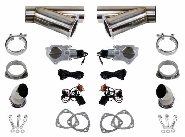 Granatelli Motorsports - Granatelli Motorsports Electronic Exhaust Cutout Kit 307530K