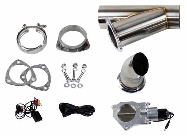 Granatelli Motorsports - Granatelli Motorsports Electronic Exhaust Cutout Kit 307540