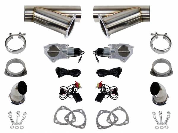 Granatelli Motorsports - Granatelli Motorsports Electronic Exhaust Cutout Kit 307540K