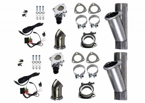 Granatelli Motorsports - Granatelli Motorsports Electronic Exhaust Cutout Kit 303540D
