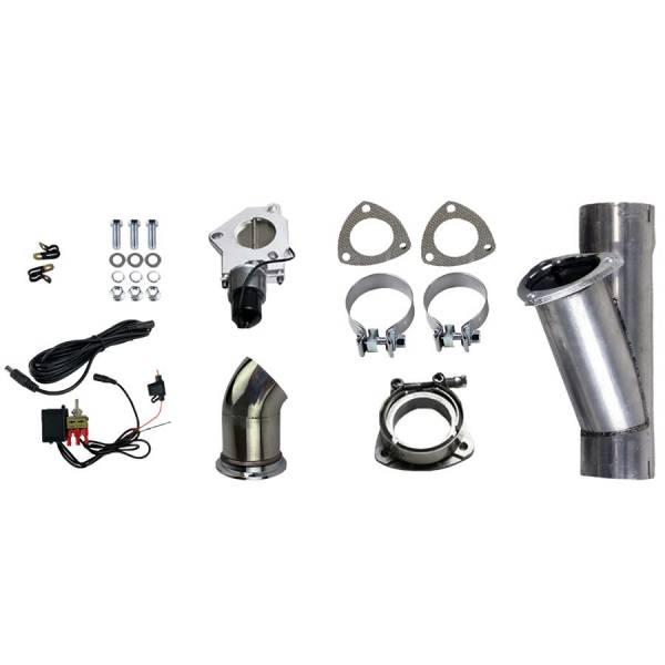 Granatelli Motorsports - Granatelli Motorsports Electronic Exhaust Cutout Kit 303530
