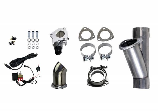 Granatelli Motorsports - Granatelli Motorsports Electronic Exhaust Cutout Kit 303540
