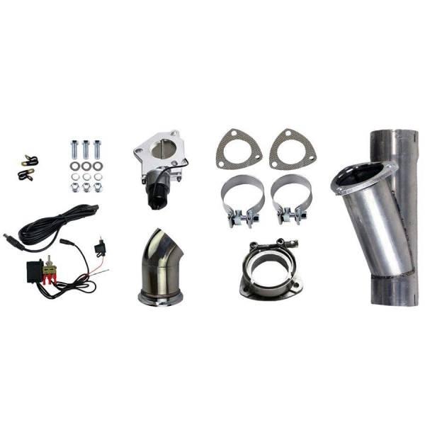 Granatelli Motorsports - Granatelli Motorsports Electronic Exhaust Cutout Kit 303522