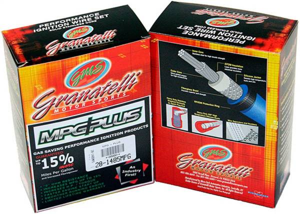 Granatelli Motorsports - Granatelli Motorsports Ignition Wires And Coil Pack Internals 28-2116HTB